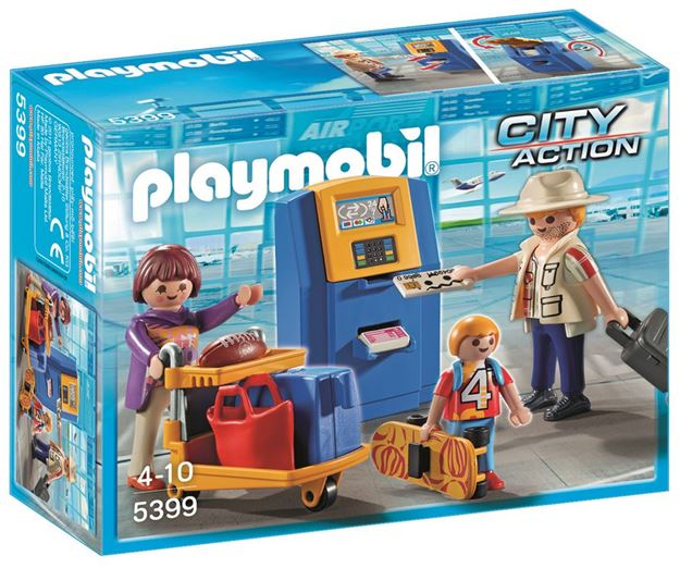 Picture of Playmobil - Family At Check In
