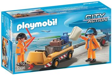 Picture of Playmobil - Aircraft Tug With Ground Crew
