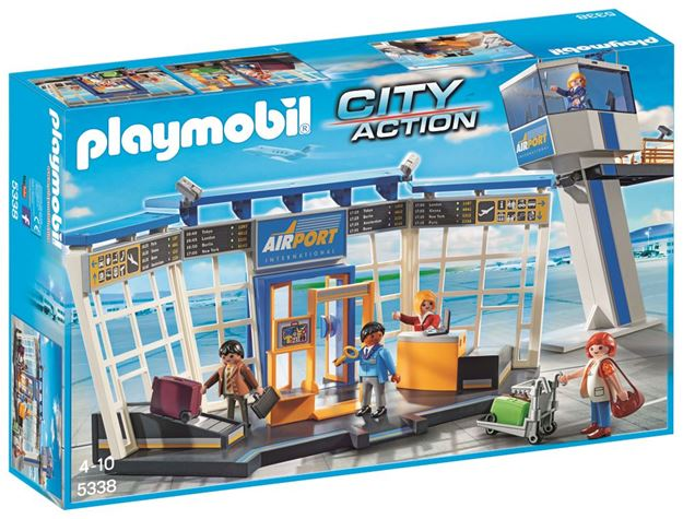 Picture of Playmobil - Airport With Control Tower