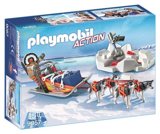 Picture of Playmobil - Husky Drawn Sled