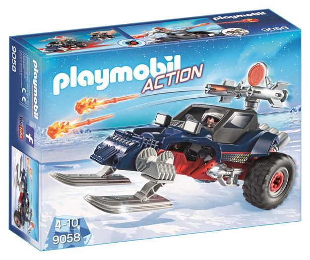 Picture of Playmobil - Ice Pirate With Snowmobile