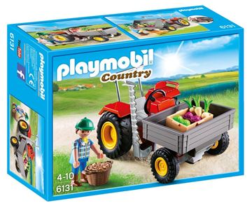 Picture of Playmobil - Harvesting Tractor