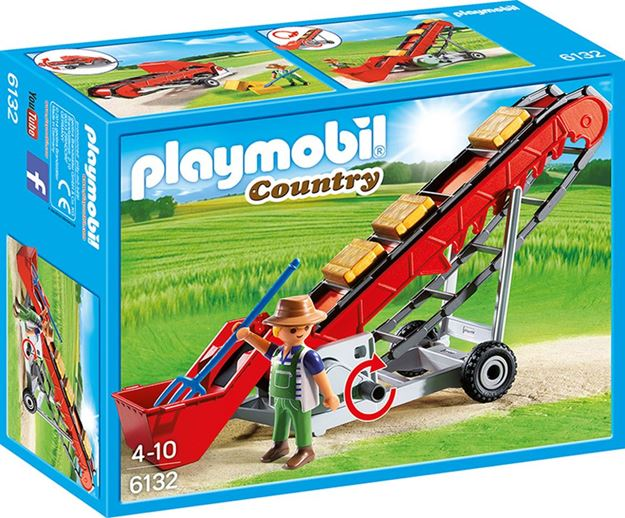 Picture of Playmobil - Hay Bale Conveyor