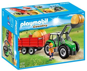 Picture of Playmobil - Large Tractor With Trailer