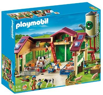 Picture of Playmobil - Barn With Silo