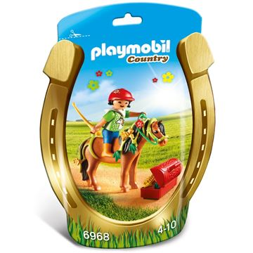 Picture of Playmobil - Groomer With Bloom Pony