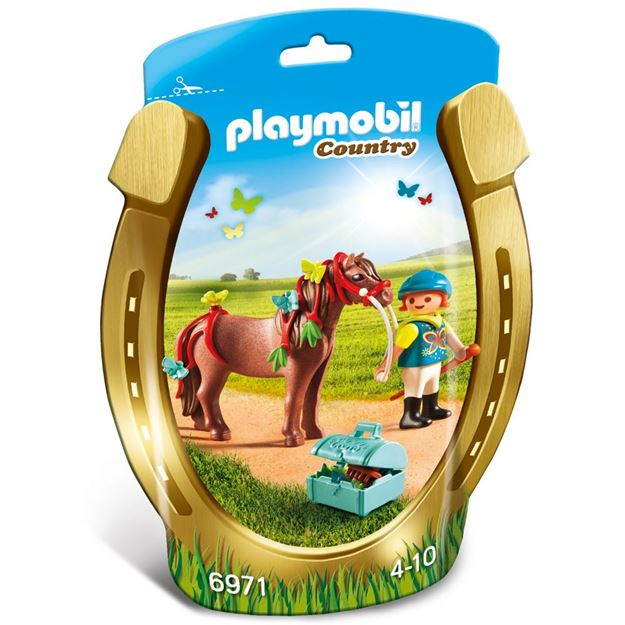 Picture of Playmobil - Groomer With Butterfly Pony