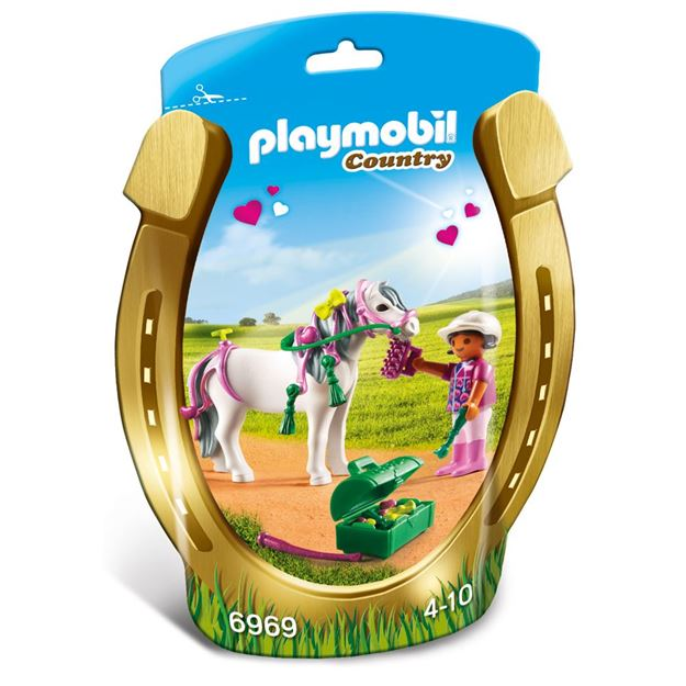 Picture of Playmobil - Groomer With Heart Pony