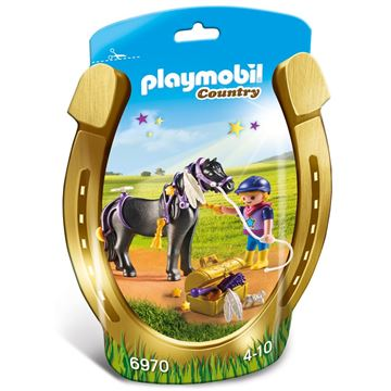 Picture of Playmobil - Groomer With Star Pony