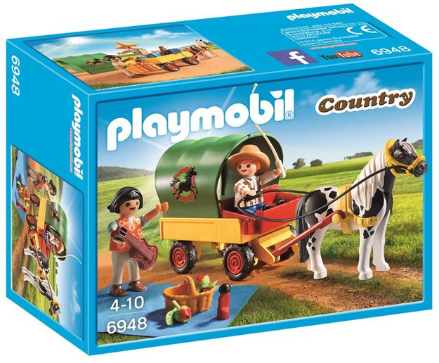 Picture of Playmobil - Picnic With Pony Wagon