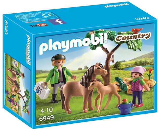 Picture of Playmobil - Vet With Pony & Foal