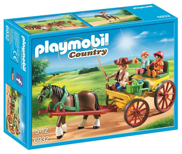 Picture of Playmobil - Horse-Drawn Wagon