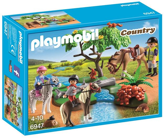 Picture of Playmobil - Country Horseback Ride