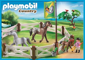 Picture of Playmobil - Horse Paddock
