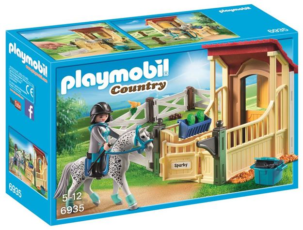 Picture of Playmobil - Stable With Appaloosa
