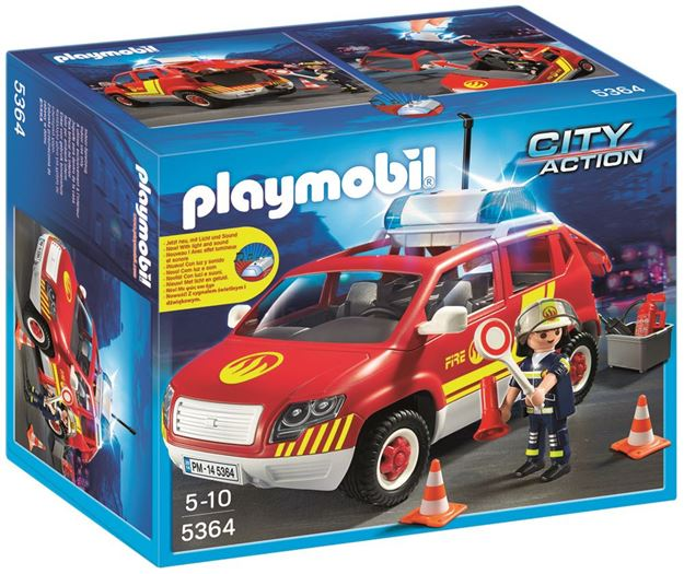 Picture of Playmobil - Fire Chiefs Car