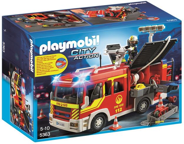 Picture of Playmobil - Fire Engine With Lights & Sounds