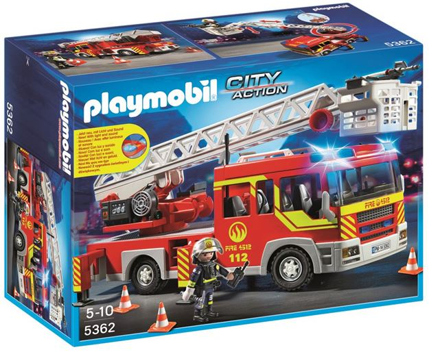 Picture of Playmobil - Ladder Unit With Lights & Sounds