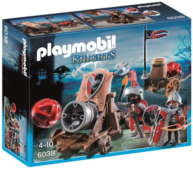 Picture of Playmobil - Hawk Knight's Battle Cannon