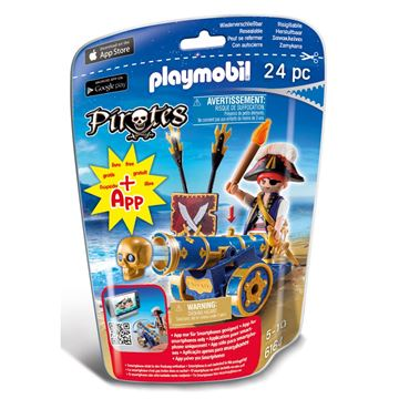 Picture of Playmobil - Blue Cannon With Pirate