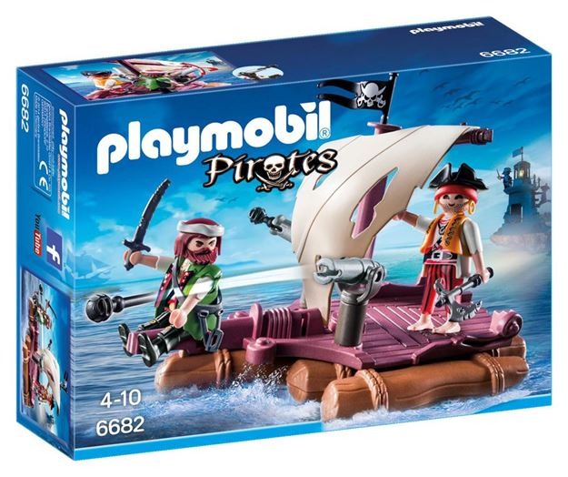 Picture of Playmobil - Pirate Raft