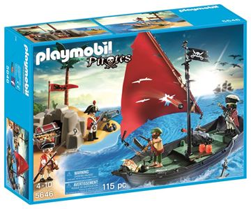 Picture of Playmobil - Pirate Club Set