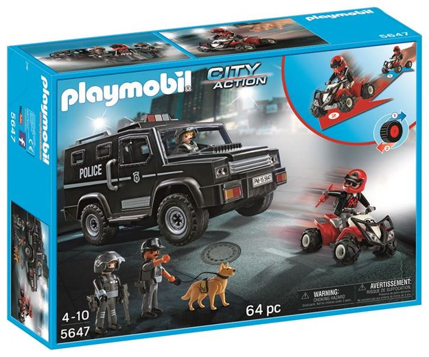 Picture of Playmobil - Tactical Unit Club Set