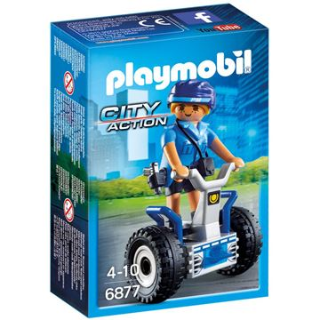 Picture of Playmobil - Policewoman With Balance Racer