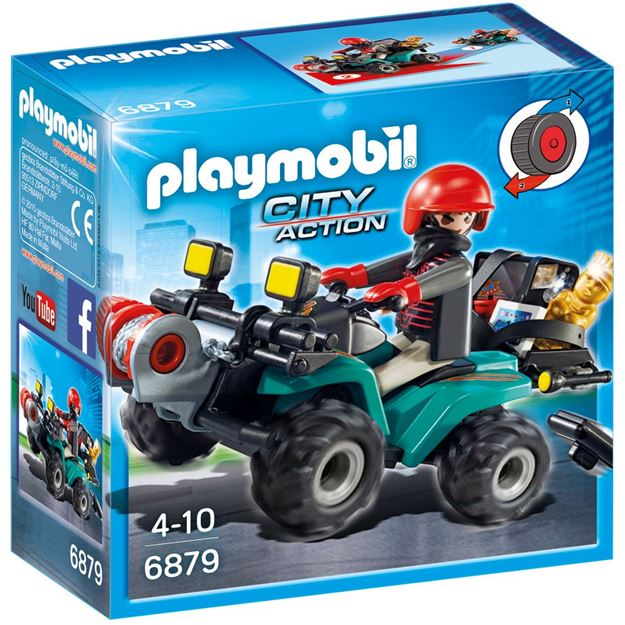 Picture of Playmobil - Robber's Quad With Loot