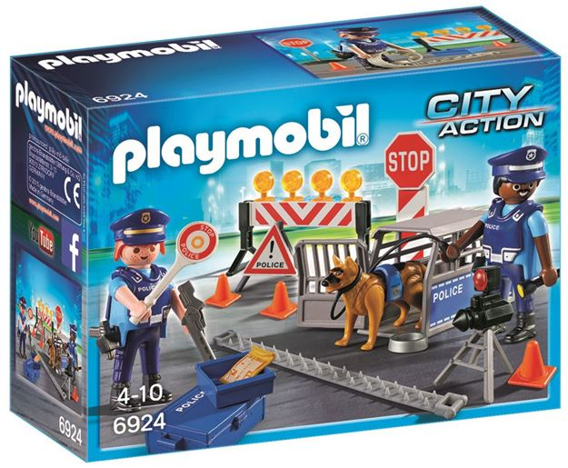 Picture of Playmobil - Police Roadblock