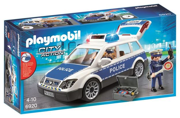 Picture of Playmobil - Police Car With Lights & Sounds