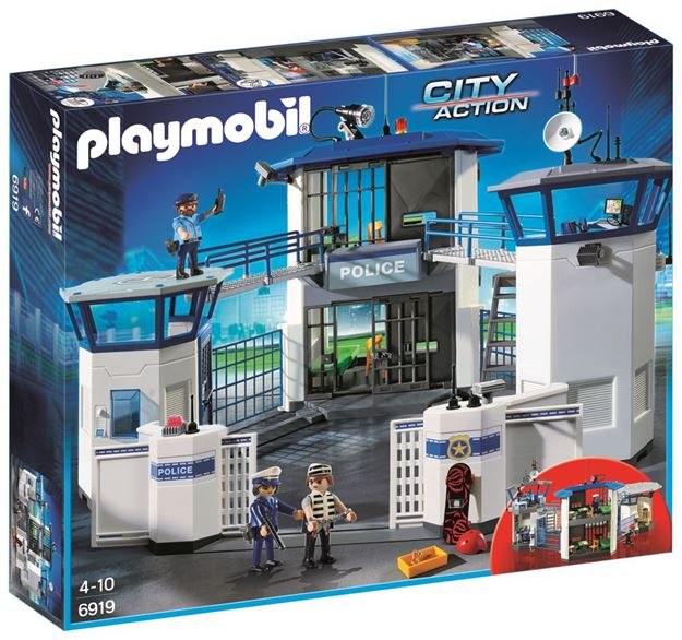 Picture of Playmobil - Police Headquarters With Prison