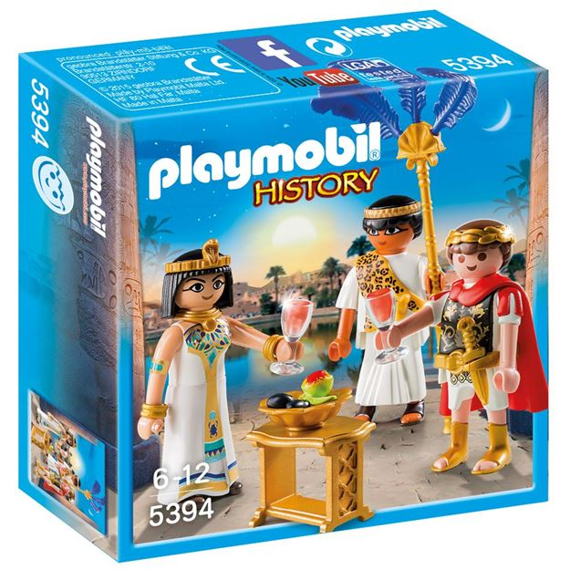 Picture of Playmobil - Caesar & Clepatra