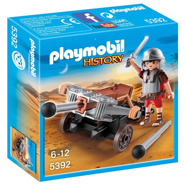 Picture of Playmobil - Legionnaire With Ballista