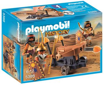 Picture of Playmobil - Egyptian Troop With Ballista