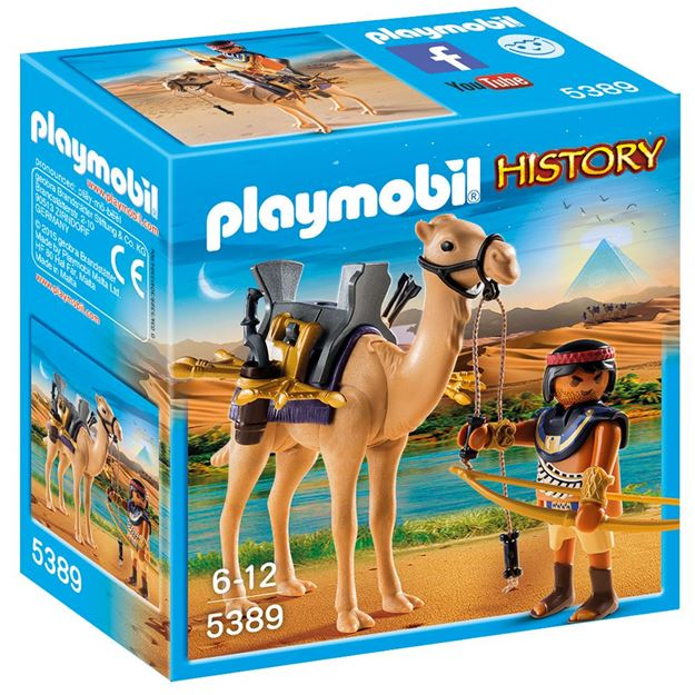 Picture of Playmobil - Egyptian Warrior With Camel