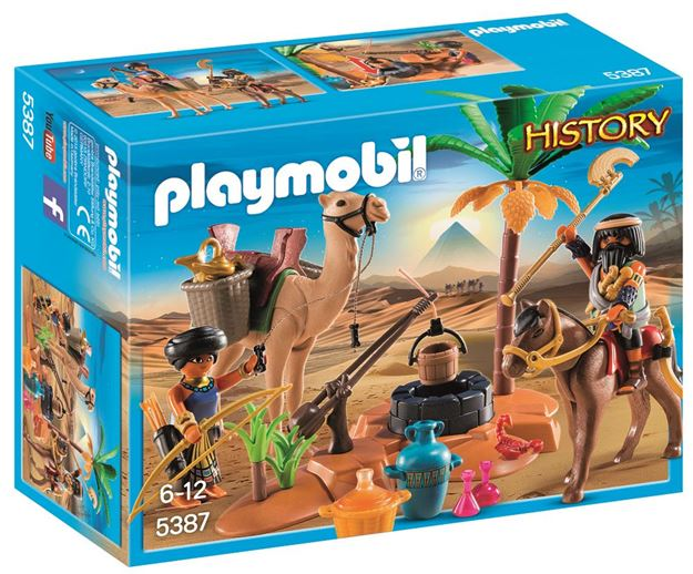 Picture of Playmobil - Tomb Raiders Camp