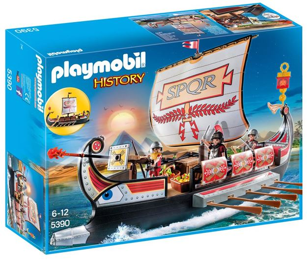 Picture of Playmobil - Roman Warriors Ship
