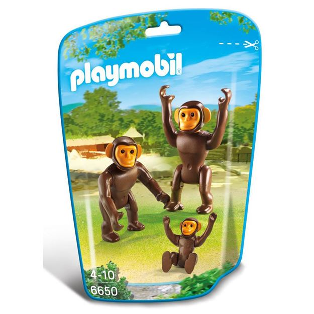 Picture of Playmobil - Chimpanzee Family