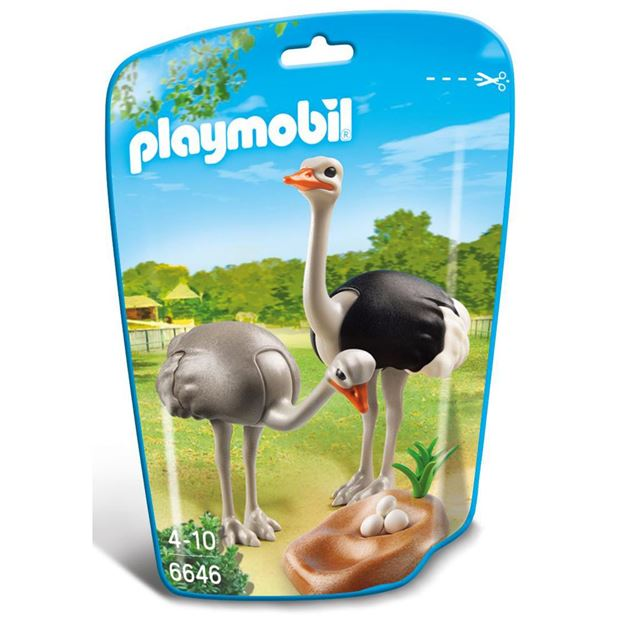 Picture of Playmobil - Ostriches With Nest