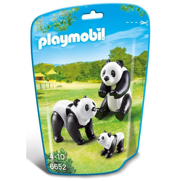 Picture of Playmobil - Panda Family