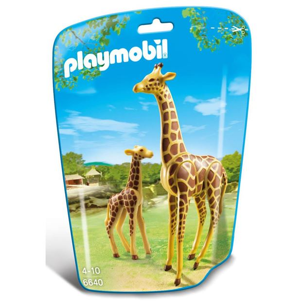 Picture of Playmobil - Giraffe With Calf