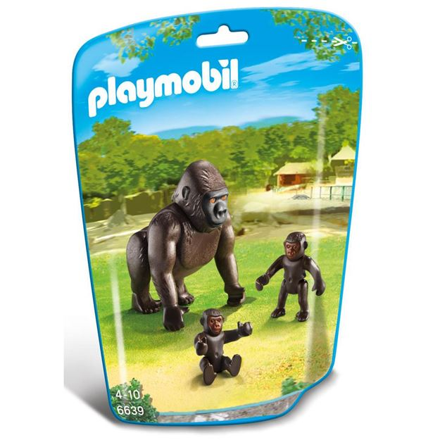 Picture of Playmobil - Gorilla With Babies