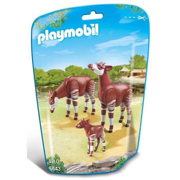 Picture of Playmobil - Okapi Family