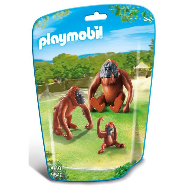 Picture of Playmobil - Orangutan Family