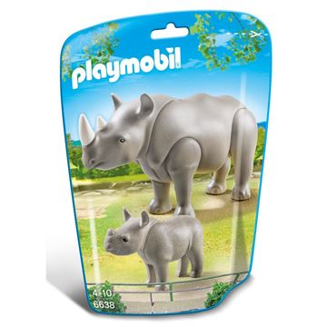 Picture of Playmobil - Rhino With Baby