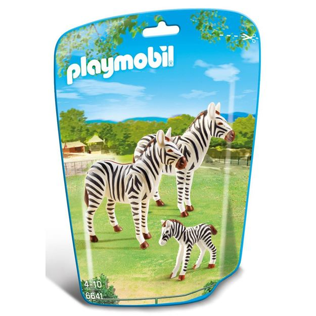 Picture of Playmobil - Zebra Family