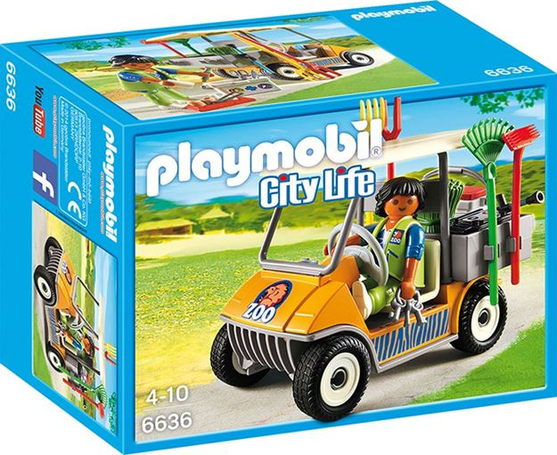 Picture of Playmobil - Zookeeper's Cart