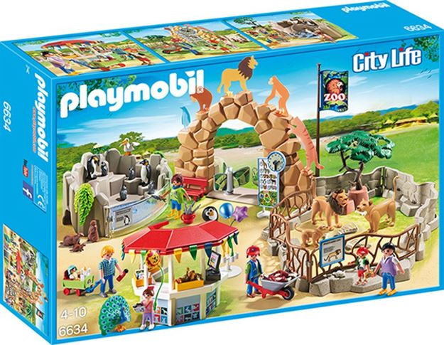 Picture of Playmobil - Large City Zoo