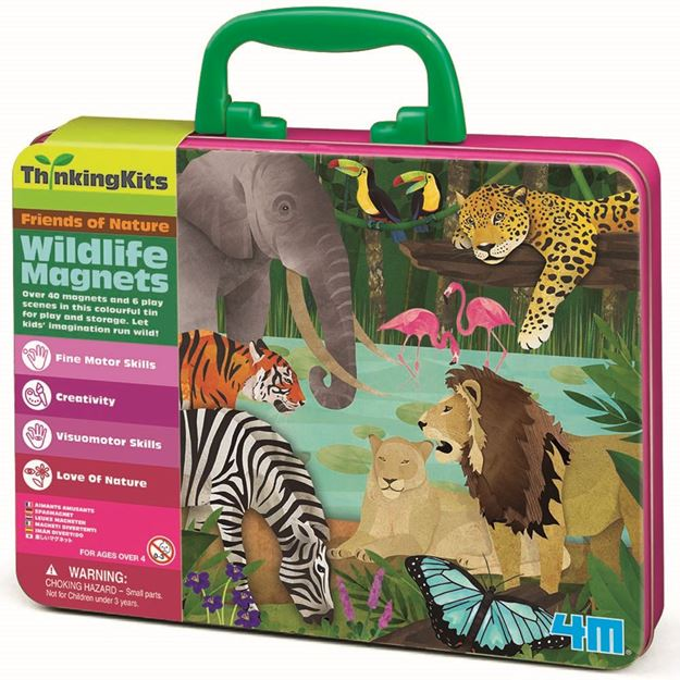 Picture of 4M Craft - Wildlife Magnets